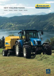 New Holland T5030 T5040 T5050 T5060 T5070 T5000 Tractors Catalog page 1