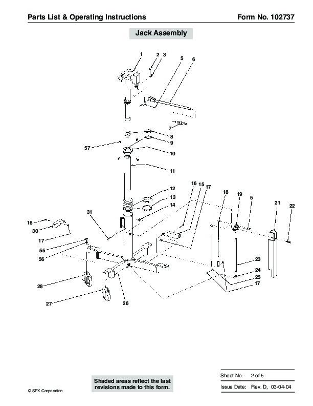 Otc Motorcycle Lift : Spx otc lift table high transmission