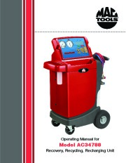 Robinair SPX AC34788 Recovery Recycling Recharging Unit Owners Manual page 1