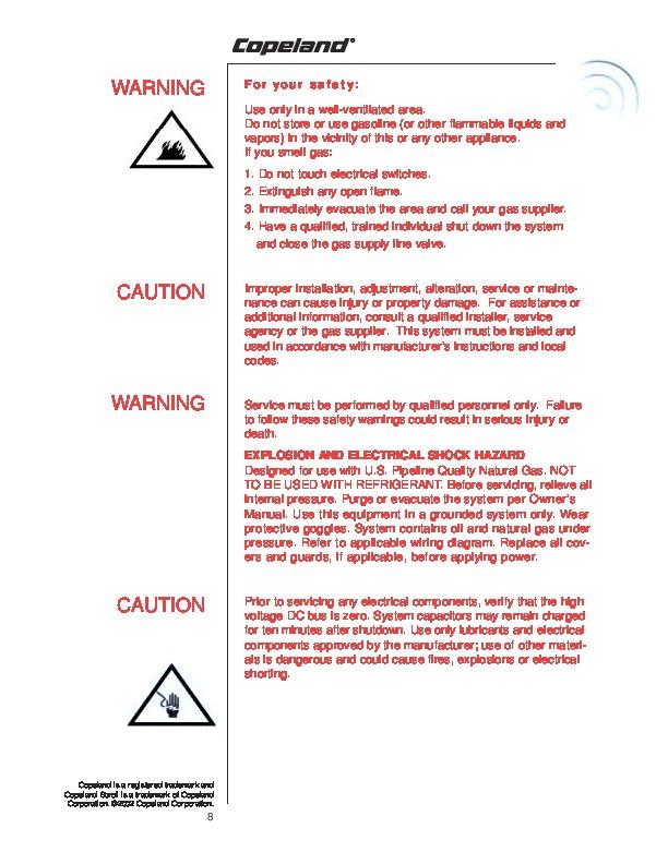 Инструкция для персонала по обслуживанию компрессорных