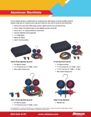 Robinair SPX 48510 47150 48511 48501 R134a Catalog page 1