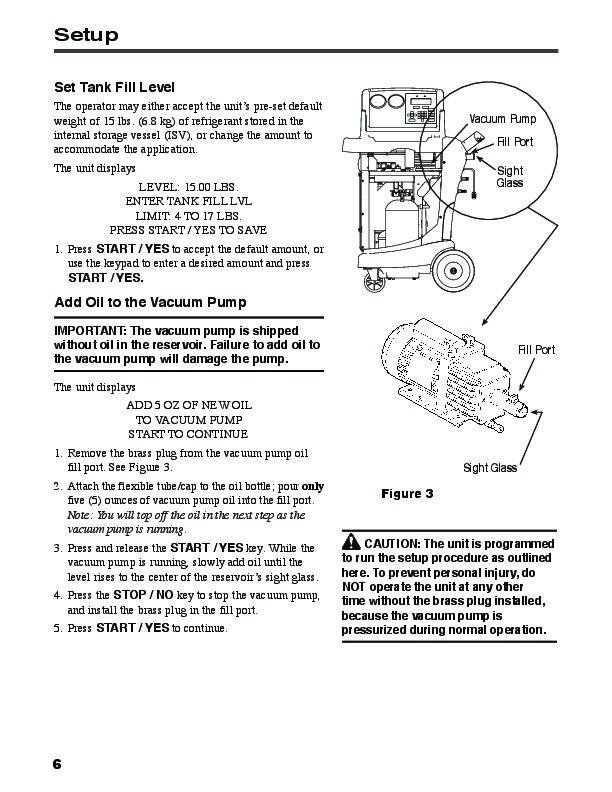 robinair spx ge 48800 recovery recycling recharging unit owners manual rh needmanual com GE Bagless Vacuum Cleaner GE Bagless Vacuum Cleaner