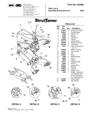 Robinair SPX Tech Serv 6585 Owners Manual page 1