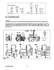 Emerson Copeland DK DL S Series Semi Hermetic Compressor Manual page 4