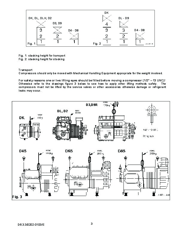 emerson copeland dk dl s series semi hermetic compressor manual rh needmanual com Capacitors for Compressor Wiring Diagram copeland compressor manual download