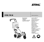 STIHL FW 20 Cut Off Saw Cart Owners Manual page 1