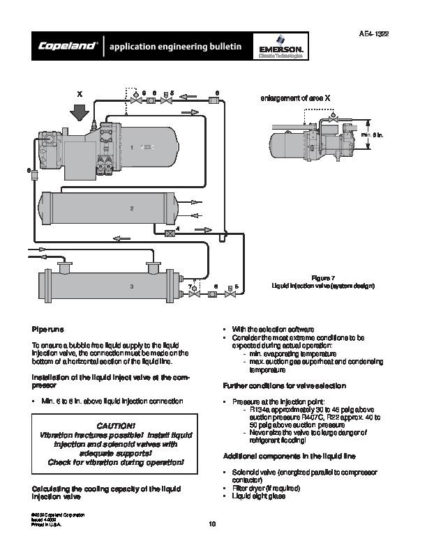 emerson copeland ae4 1322 copeland screw compressor manual page 10