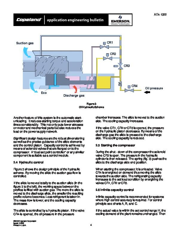 Emerson Copeland Ae4 1322 Copeland Screw Compressor Manual