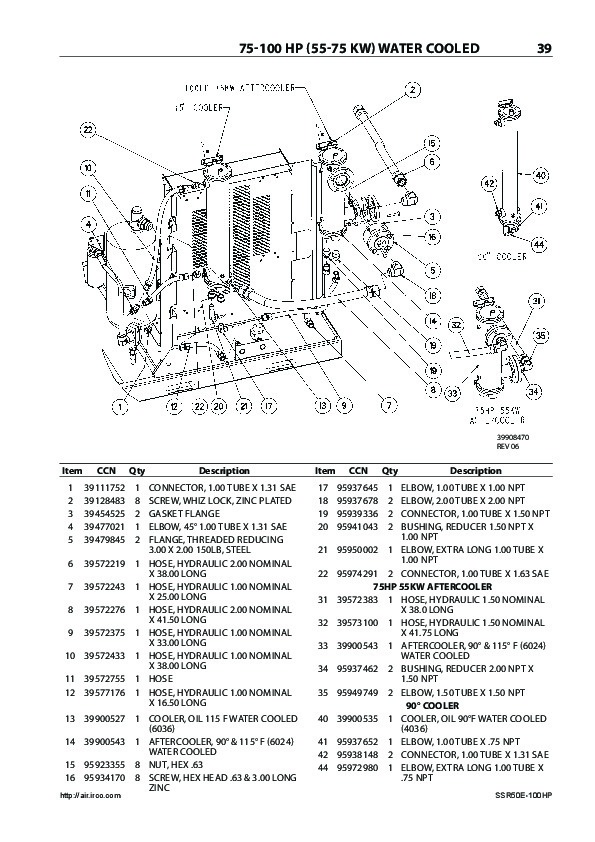 ingersoll rand air compressor parts ssr ep 50 the knownledge